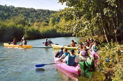 canoe sur l'eau